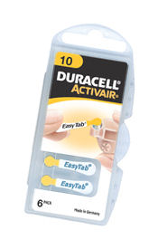 Half Price Duracell Activair batteries